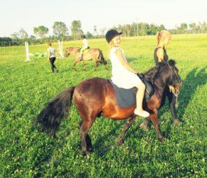 Pastaiga ar ponijiem grupām!