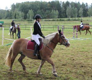 Laura Krastiņa ar zirgu Jašma - sacensības :Kocēnu kauss 2017